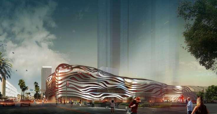 PETERSEN AUTOMOTIVE MUSEUM BUILDING RENOVATION BY KOHN PEDERSEN FOX03
