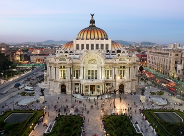 Palacio de Bellas Artes in Mexico City